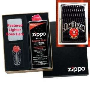 Jim Beam Limited Edition Zippo Lighter Gift Set: Health