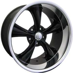 Boss 338 18x9.5 Black Wheel / Rim 5x115 with a  4mm Offset and a 82.80