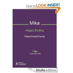 Happy Ending Sheet Music (Piano/Vocal/Chords): Mika: