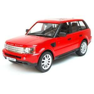 Range Rover Sport Remote Control Car in Red Scale 1/24 Toys & Games