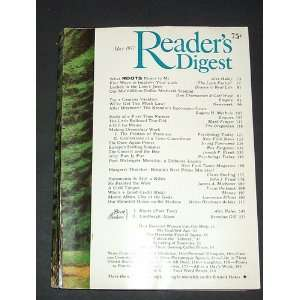 READERS DIGEST, MAY 1977 / WHAT ROOTS MEANS TO ME BY ALEX HALEY, POST
