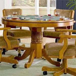 Oak Three In One Game Table   Coaster 100951 Furniture
