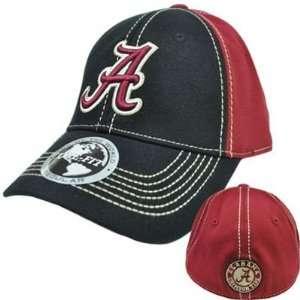 Alabama Crimson Roll Tide Hat Cap NCAA Flex Fit Stretch Stitch Top of