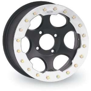 Wheel   14x7   4+3 Offset   4/137   Matte Black, Wheel Rim Size: 14x7
