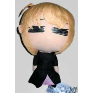 Fate stay night 12 Saber in black dress Plush Doll Toys