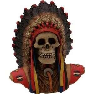 American Shifter Company 37 Big Chief Skull Shift Knob Automotive