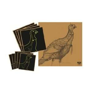Shoot NC Turkey Targt Kit w/Vital (Targets & Throwers) (Paper Targets)