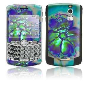 Amys Flower Design Protective Skin Decal Sticker for Blackberry Curve