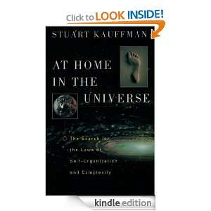 At Home in the Universe:The Search for the Laws of Self Organization