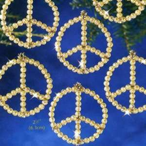 Peace Signs   Beaded Kit 3055 Arts, Crafts & Sewing