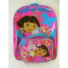 explorer girls large backpack detachable lunch box by gdc out of stock