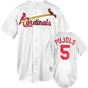 Albert Pujols White Majestic Home Replica St. Louis Cardinals