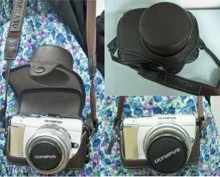 Olympus Pen EPL1 EPL 1 EP1 EP2 Camera Leather Case Bag