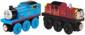 SALTY & THOMAS   The Wooden Railway Train Friends NEW