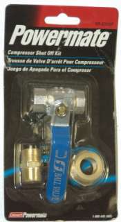 Coleman Powermate Compressor Shut Off Kit 3/4 or 3/8