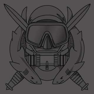 special ops diver scuba navy seals military t shirt S