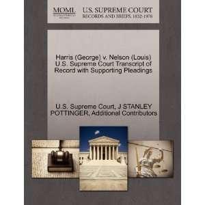 STANLEY POTTINGER, Additional Contributors, U.S. Supreme Court Books