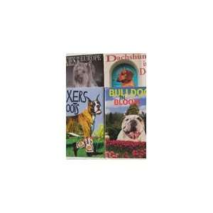 , Dachshunds in Doors, & Yorkies in Europe 4 Pack: Brown Trout: Books