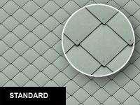 0227 Diamond Metal Roof Tiles Texture Sheet