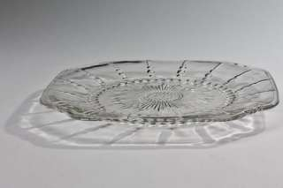 Square Columbia by Federal depression era salad plate