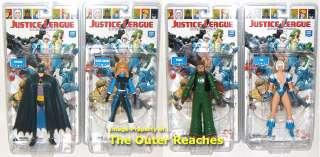 DC DIRECT Justice League International SERIES 1 4 Action Figure SET