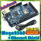 SainSmart Mega2560 SainSmart Ethernet Shield Kit ATMEGA2560 ATMEGA8U2