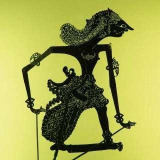 Schattenspielfigur Wayang Kulit aus Indonesien cp67