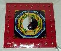 Zen Art Feng Shuii Yin Yang Wall Clock   Lucky Symbols