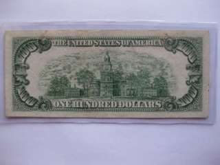 LOT #68   100 DOLLAR STAR NOTE 1950 E