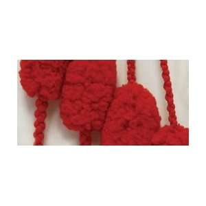 Puff Ball Holidays Christmas Yarn Cherry Cherry