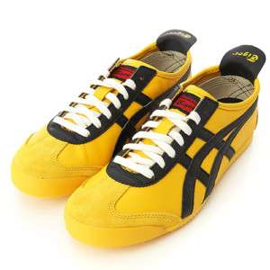 Asics Onitsuka Tiger Mexico 66 Yellow/Black Shoes #T48