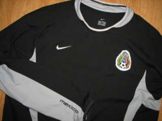 NIKE MEXICO FOOTBALL/SOCCER/FUTBOL LONG SLEEVE JERSEY MEN LG