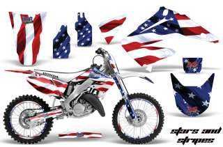 MOTORCYCLE NUMBER PLATE GRAPHIC DECO WRAP HONDA CR 125 250 R 02 12 SS