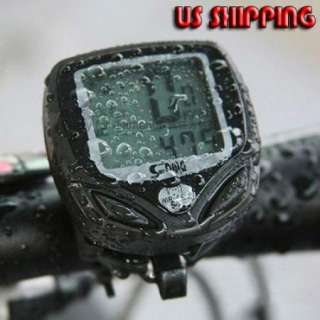 New Cycling Bike Bicycle Wireless LCD Computer Odometer Speedometer