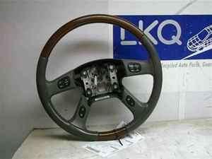 Escalade Yukon Sierra Denali Tahoe Steering Wheel