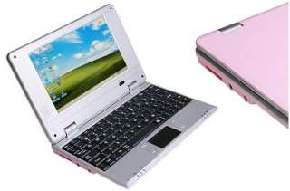 New Cheap PINK WHITE RED Mini Laptop Netbook Android 2.2 Notebook