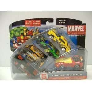 Iron Man (Dodge Challenger SRT) andJuggernaut (Slayer) MULTI PACK 5