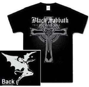 BLACK SABBATH   T Shirt  RULES OF HELL  Ozzy   NEW**