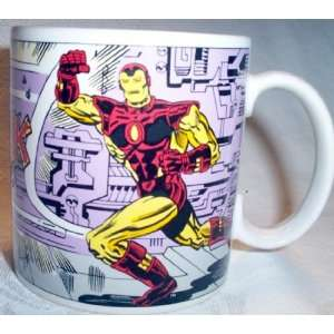 Marvel Comics Super Hero Iron Man Coffee Cup  Kitchen