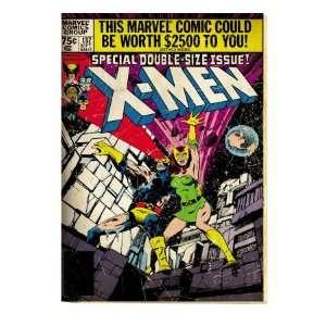 Marvel Comics Retro The X Men Comic Book Cover #137