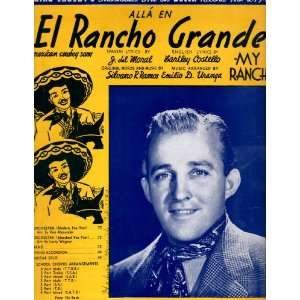 Grande.Sheet Music Bartley Costello and Emilio D. Uranga Books