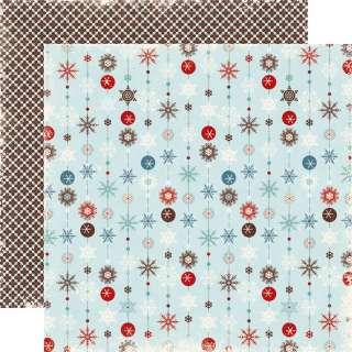 Echo Park Wintertime 15 sheet paper kit Build your own kit