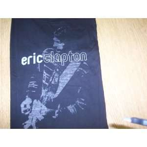 Eric Clapton Fade To Black T Shirt   Black  XL