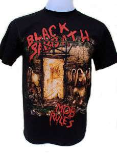 Black Sabbath Mob Rules T Shirt RRP £19.99