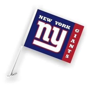 NEW YORK NY GIANTS NFL FOOTBALL 11x 18 PREMIUM 2 SIDED CAR FLAG