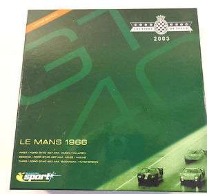 Scalextric Sport Ford GT40 1966 Le Mans 1/32 Slot Cars