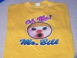 Oh No MR BILL Saturday Night Live Sketch 1970s T Shirt