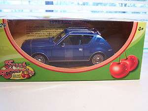 NIB FRESH CHERRIES 1974 AMC GREMLIN DIECAST CAR 1/24 SCALE BLUE MOTOR