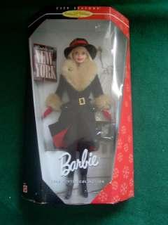 Winter in New York City Seasons Barbie Doll
