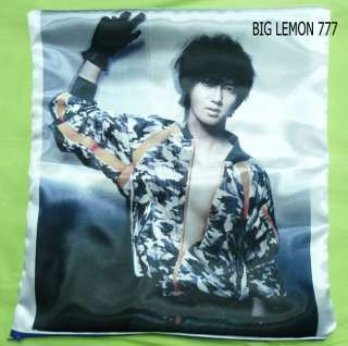 YeSung In SUPER JUNIOR Cushion Pillow Cover /Pillowcase Satin Q2